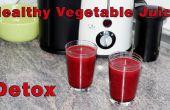 Comment faire Super saine Detox jus légumes Recette
