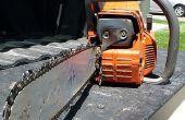 Comment tendre une chaîne Chainsaw