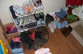Étagère à chaussures romaine (sans attache)