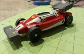 1976 Ferrari de Niki Lauda, vedette dans Rush - Pinewood Derby Style