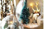 Snow Globe Arctique ornements - thème