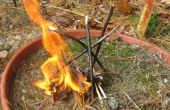 Comment faire pour démarrer un feu de camp
