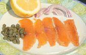 Comment faire Grava saumon Saumon fumé - mise à jour!!