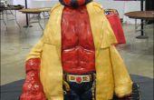 Comment faire un gâteau de Hellboy sculpté