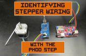 Identifier Stepper câblage avec le Pmod étape