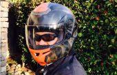 Comment faire pour aérographe un casque de moto