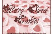 Berry biscuits sucrés sont parfaits pour la Saint Valentin !