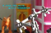 5 projets cool avec un Transistor général