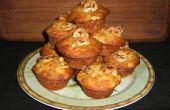 Ananas / banane / Sunflower Seed Cupcakes