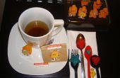 Sachets de thé infusé sucre Cubes et de caractères
