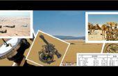 Opération Desert Storm Sun Compass