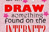 Art : Dessiner une image sur Internet.