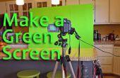 Comment faire et utiliser un écran vert