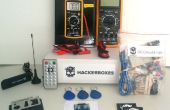 HackerBoxes 0000 : Circuits en courant continu, logiciel Radio, RFID, infrarouge