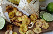 Croustillant cuit Chips de banane Plantain - 3 délicieuses saveurs