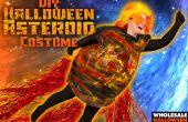 DIY Costume effrayant de l'astéroïde