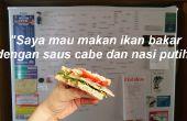 """Apprendre une nouvelle langue (même si vous faites un """"sandwich""""!)"""