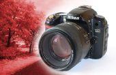 BRICOLAGE d'appareil photo reflex numérique infrarouge Permanent