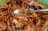 Smoked Paprika tiré porc recette facile