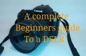 Un guide pour un reflex numérique débutants