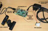Accueil sécurité Email alerte système à l'aide de Raspberry Pi