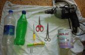 Réutiliser des bouteilles d'eau comme porteurs polyvalents.