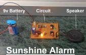 Alarme de soleil à l'aide de LM555 et LM358