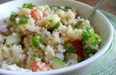 Salade de Vegan de taboulé traditionnel du Moyen-Orient
