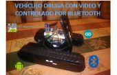 Réservoir avec vidéo contrôlé par inventor app android et bluetooth