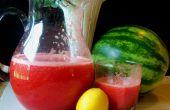 Pastèque limonade aux fraises