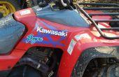 Dépannage/réparation d'un Bayou Kawasaki KLF300 ATV électrique tè