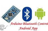 Arduino pro mini Bluetooth HC-06 et l'application Android