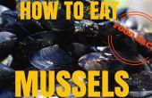 Alimentation Hack - la bonne façon de manger des moules