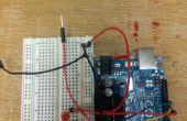 Arduino testeur de piles (1,5 v)