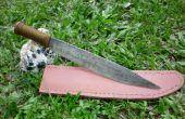 Comment faire une gaine de couteau en cuir