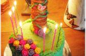 Gâteau de tour de Raiponce (pour une partie Tangled)