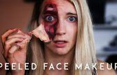 Comment faire pour décoller votre peau ! (avec maquillage)