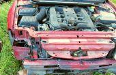 Comment réparer une voiture ont totalisé pendant une fraction de le « estimation ».