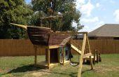 Comment construire une aire de jeux bateau Pirate