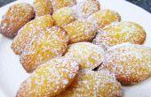 Français de madeleines beurre gâteaux