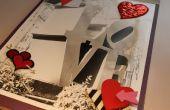 Livre d'amour fabriqués à la main (d'un vieux fournitures photo & restes)