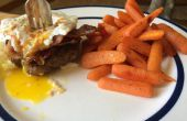 Triple des protéines Burger repas avec le Dessert