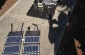 Centrale solaire portable