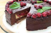 Tarte-gâteau de Noël - végétaliens et sans gluten