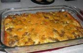Le parfait saucisse, l'oeuf & la fromage petit déjeuner Casserole