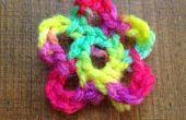 Fleur au Crochet simple