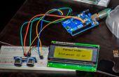 Arduino ultrasons télémètre, avec affichage à cristaux liquides I²C !