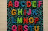 Sticker Alphabet 3D