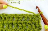 Comment Triple crochet, également connu sous le nom de Treble Crochet !