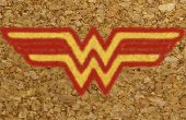 Wonder Woman Cork sous-verres